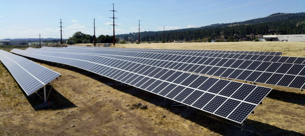 Spokane Washington Community Solar Garden By Avista